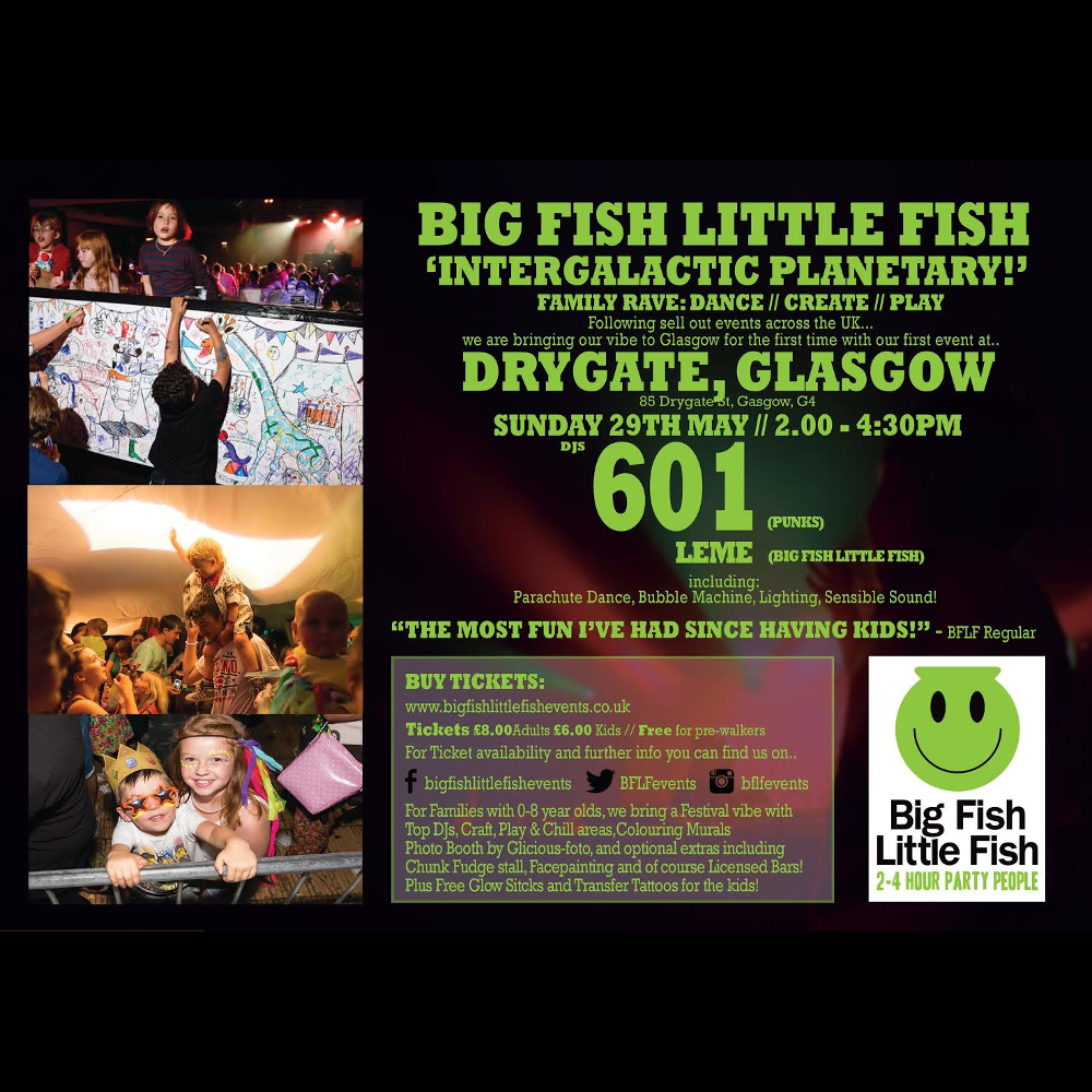 Buy big fish little fish glasgow tickets big fish little for Big fish company