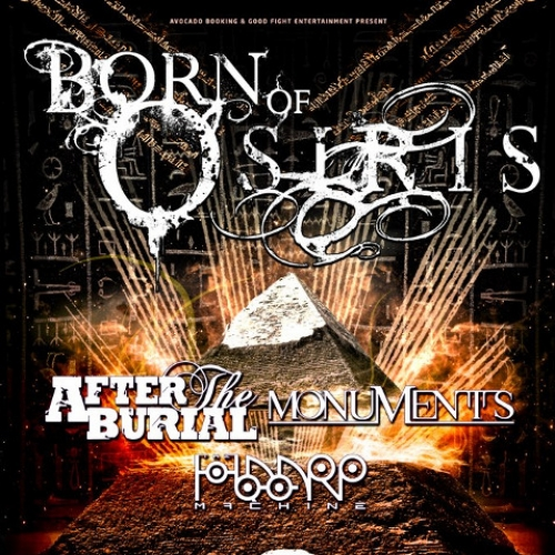 Buy Born Of Osiris + After The Burial + Monuments + The ...