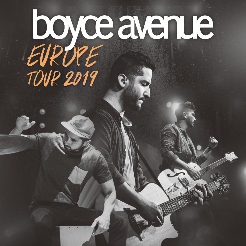 Boyce Avenue Uk Tour