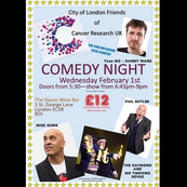 Comedy Night - hosted by the City of London Friends of Cancer Research UK