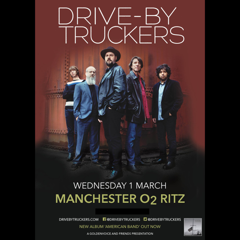 Drive By Truckers Uk Tour