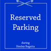 Henley Regatta Reserved Parking - Meadows Reserved