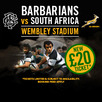 International Rugby - Barbarians v South Africa