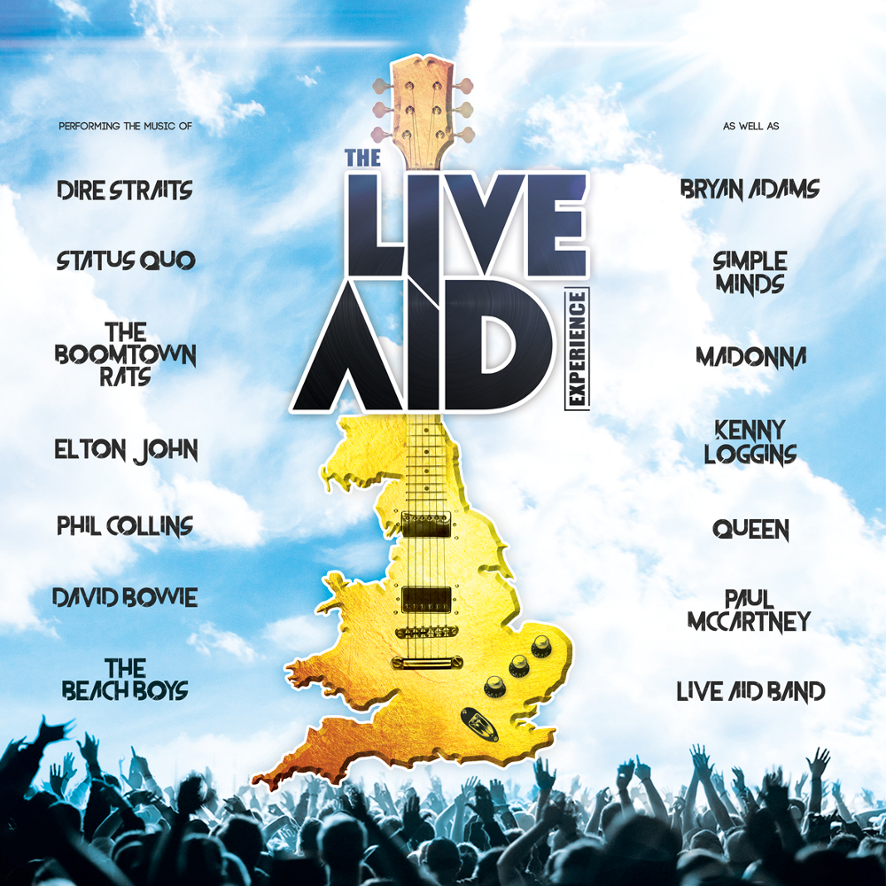 Pay Here Buy Here >> Buy Live Aid Experience tickets, Live Aid Experience tour details, Live Aid Experience reviews ...
