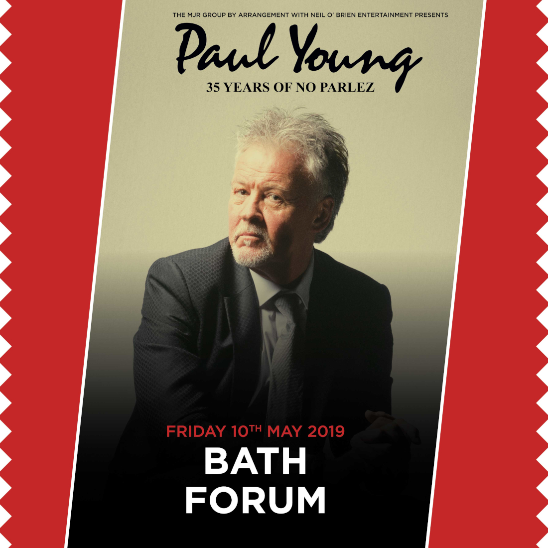 buy paul young tickets  paul young tour details  paul
