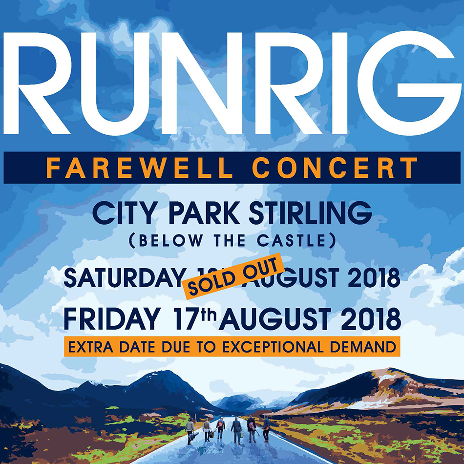 Runrig on warning ticket