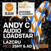 Switch presents Ram Records featuring Andy C, Loadstar, Audio & more TBA