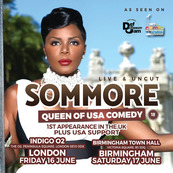 US Queen Of Comedy Sommore