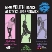 Youth Dance at City College Norwich